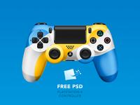 Dualshock 4  [ FREE PSD]