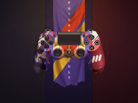 Destiny Dualshocks