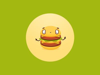Hamburger fella