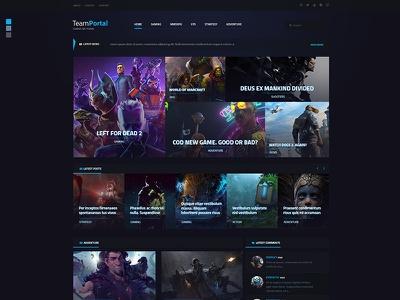 Game WP Theme gaming theme game theme wordpress theme gaming website game website games game website