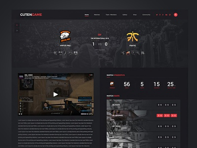 Esport matches page game website esport website wordpress theme wordpress gaming website website gaming game esport
