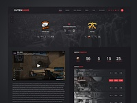 Esport matches page