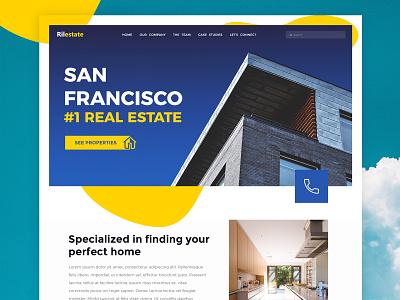 Real Estate Shot clientwork client work redesign branding ui design wordpress wordpress theme responsive website san francisco real estate realestate