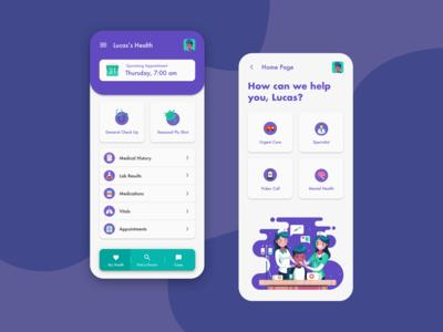 Health Patient app