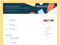 Dropbox Paper Projects