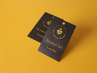 beyond art london swing tags tags swingtags branding