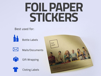 Foil Paer Stickers