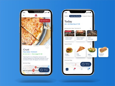 Delta App - Terminal Food Delivery