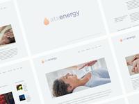 Wellness Spa Rebrand and Website Reboot WIP
