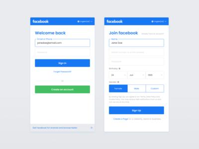 Daily UI :: 001 - Sign Up form dailyui web design ui