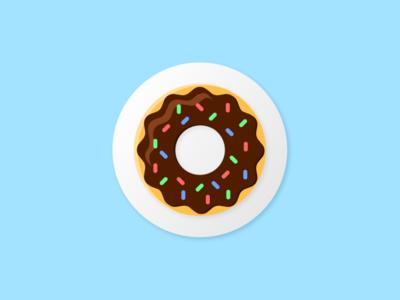 Daily UI :: 005 -App Icon donut app icon ui design dailyui