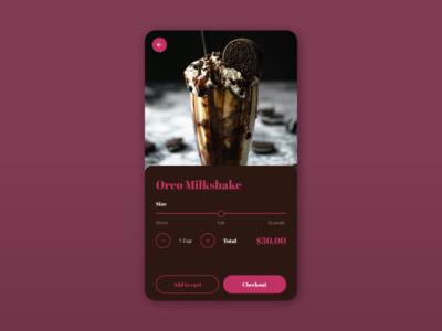 Daily UI :: 012 - E-Commerce Shop(Single Item) product page mobile ui design dailyui