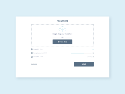 Daily UI:: 031 - File Upload file upload ui design dailyui