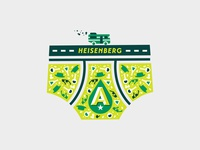 RIP Heisenberg chemistry road sunglasses rv beer underwear