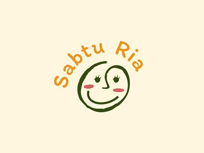 Sabtu Ria Logo typography logodesign designs logos logotype brand identity graphic design brand design logo branding