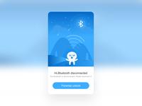Bluetooth disconnect illustration