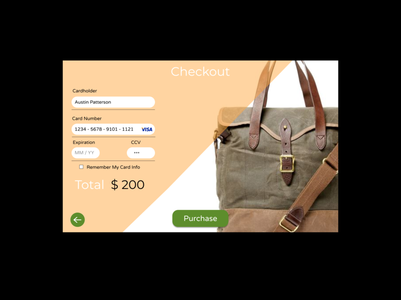 Daily Ui Challenge 002 - Checkout ux web design website ui