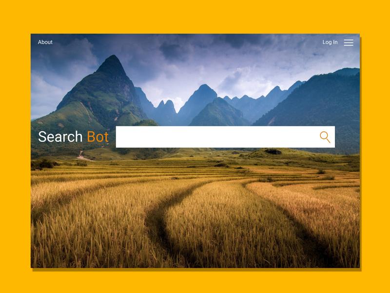Daily Ui Challenge 003 - Landing Page website web ux ui