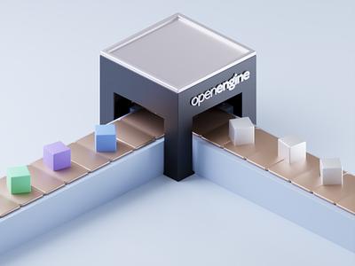 Make it uniform 3D design illustration blender b3d 3d illustration 3d art 3d