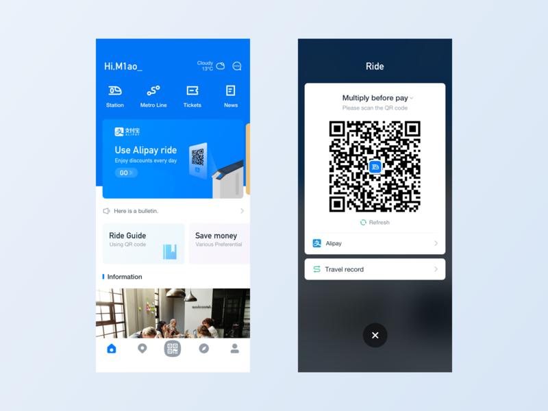 Metro ux ui app