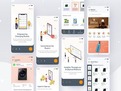E-commerce Delivery App splashscreen typography onlineshopping onlineshop ecommerceshop ecommerceapp best in dribbble uidesign appdesign design e-commercedeliveryapp ecommerce