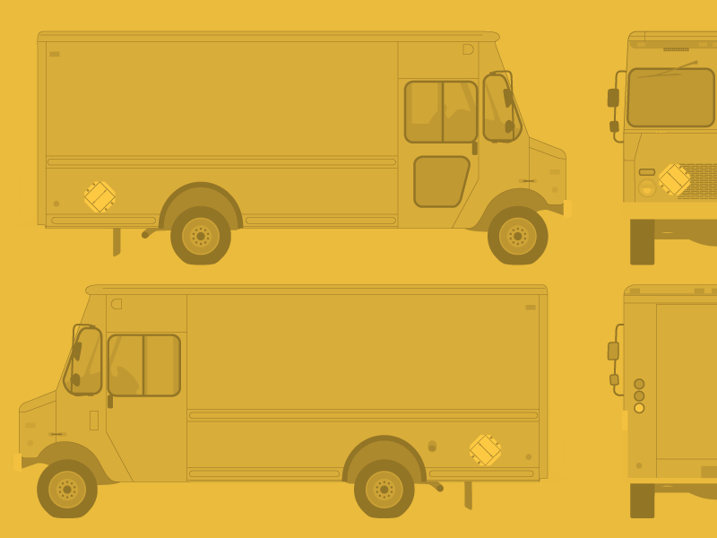 free food truck template by ben dribbble
