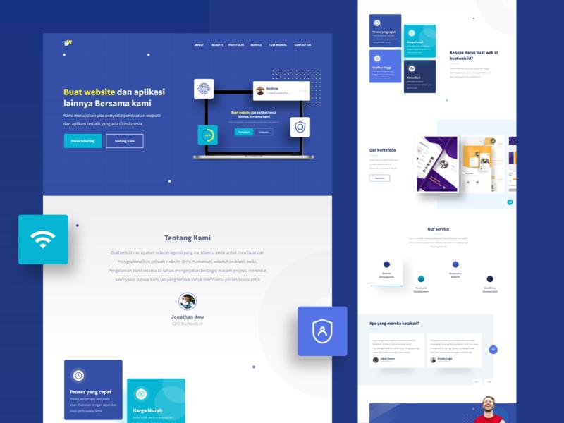 Floops - Premium HTML Template landing page layout homepage grid product testimonial minimalist clean web branding design ui uidesign