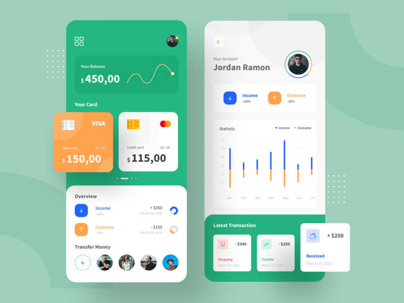 Wallet Mobile App - Exploration