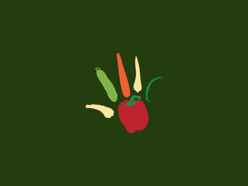 The Nursery Kitchen Logo merseyside manchester uk food and beverage food  drink fooddesign food nursery nurseryschool vector illustration flat identity logodesigner logodesign logo design branding brand