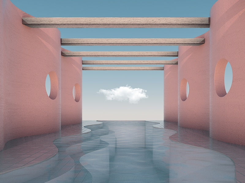 Soothing Architecture / 8 abstract architecture 3d