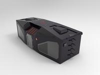 Defense Cabin 3D design