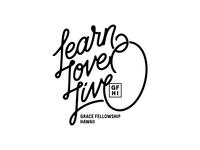 Learn Love Live - T-Shirt Design