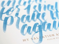 Hope in God - Lettering Project
