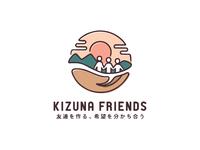 Kizuna Friends - Logo
