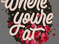 Start Where You're At - Lettering