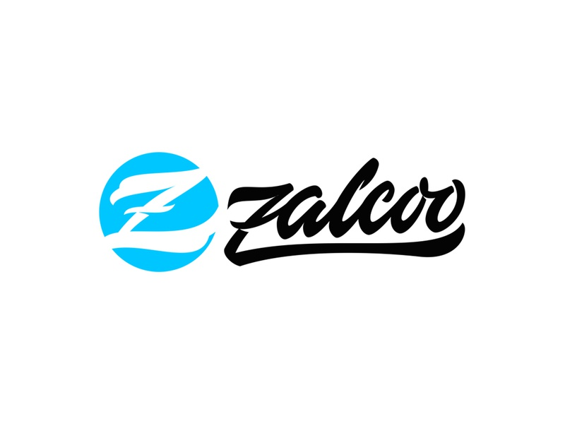 Zalcoo Logotype clothes typography brand identity brand lettering handlettering brand agency logotype design branding vector logo