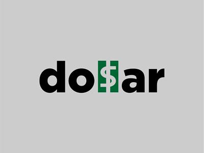 Dollar logo concept logotype negativespace brand logo dollar