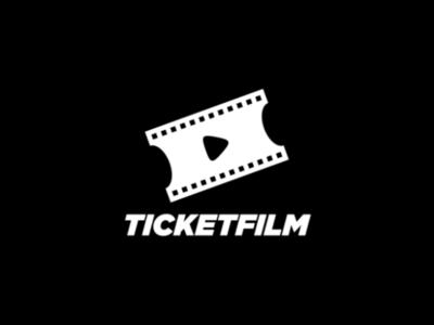 TicketFilm Logo company brand logo production movie film ticket