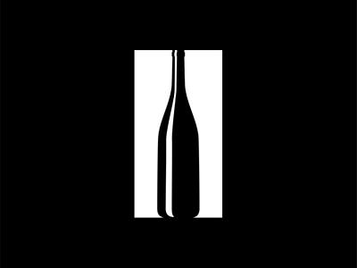 Pause Bar Logo negative space branding logo idea company brand logo lounge bar wine pause
