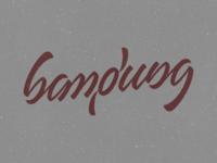 Bandung (ambigram)