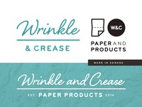 Wrinkle & Crease Brand Elements