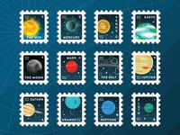 Nursery Print of the Solar System