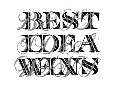 Sketchy sketch procreate illustration design typography lettering handlettering