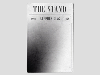 *currently reading* spread sickness pandemic plague gradient book cover 2021 reading the stand minimal simple coverr book