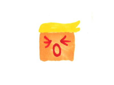Whiner-in-chief president usa donald conservative liberal gop logo icon politics trump