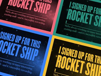 A rocket ship?!
