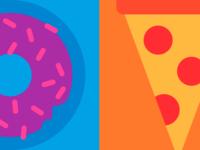Donut & Pizza