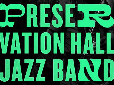 NOLA2 the offline playlist new orleans jazz typography logo lettering handlettering