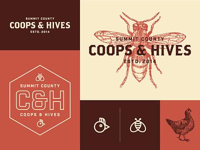 C&H logo bee chicken coop hive summit