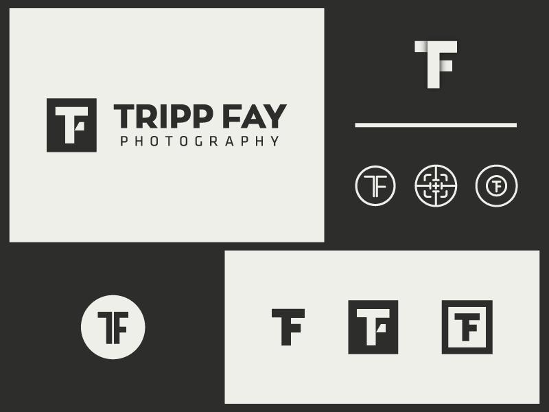 Tripp Fay Photography logo monogram photography tf